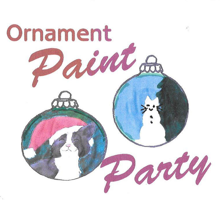 Ornament Paint Party Fundraiser